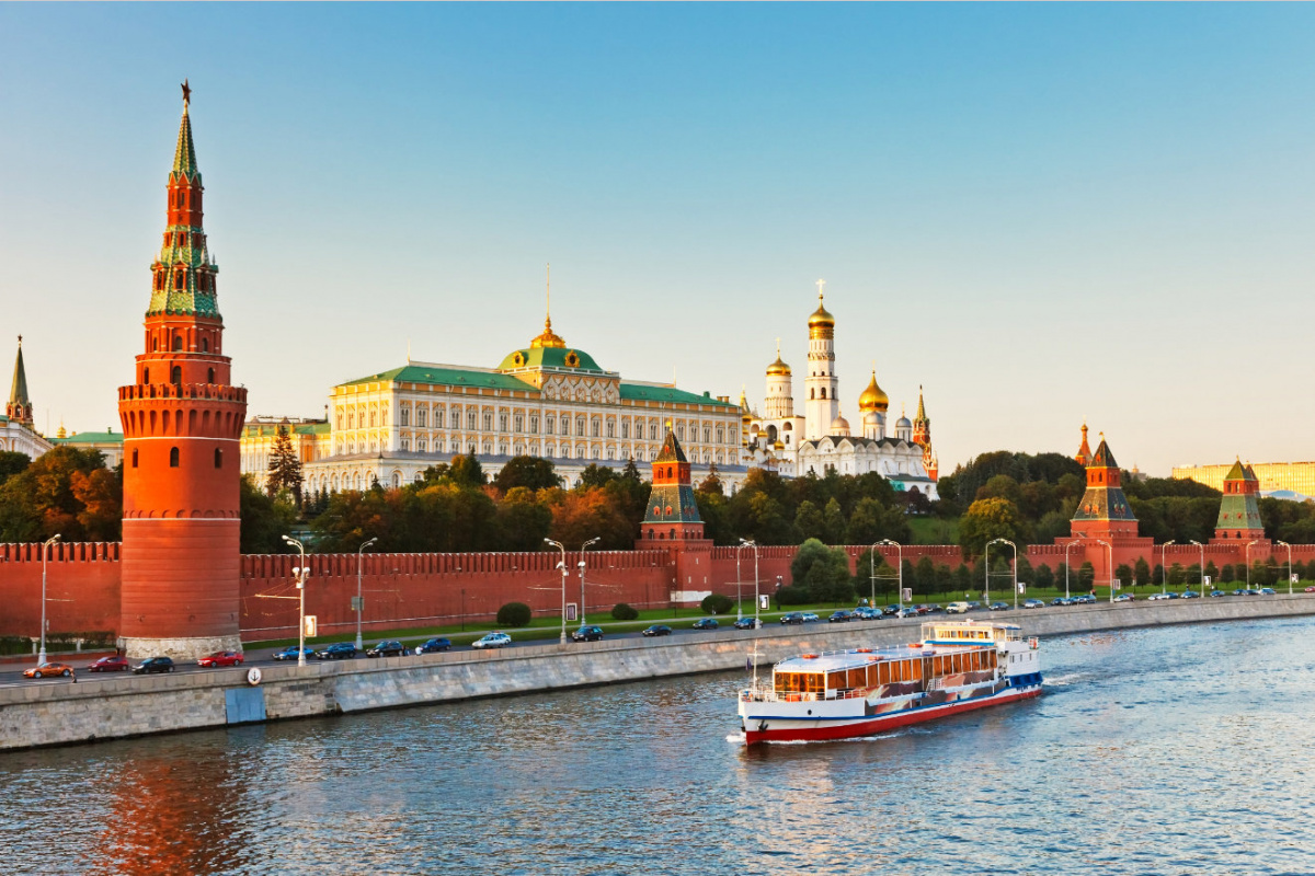 Moscow, Kremlin & Moscow river