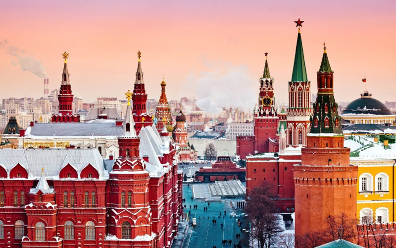 Moscow Winter Fairytale